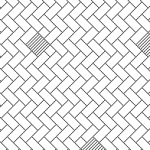 city stone paver pattern