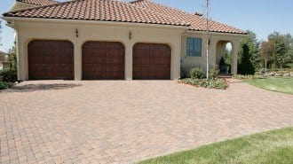 cobble-stone paver example