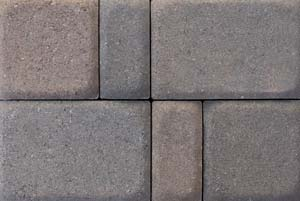 Antique Kobble 3pc Flat Top Tumbled European Pavers
