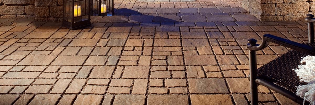 Beauty - Stone Patio Pavers Used for a Back Yard