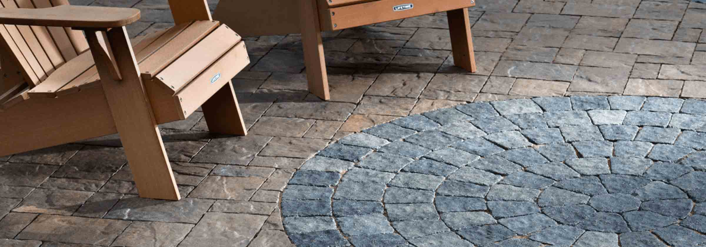 FAQ's - Stone Pavers on a Back Patio Porch