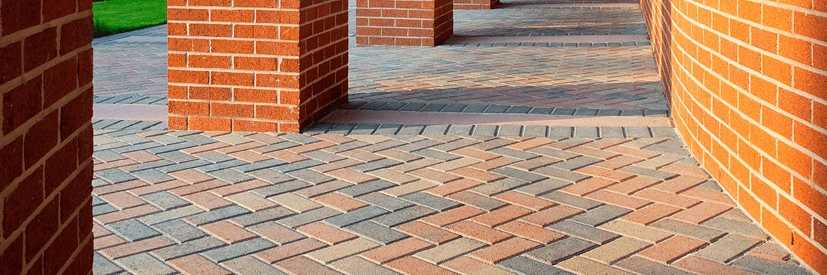 Benefits - Variation of Colored Brick Pavers