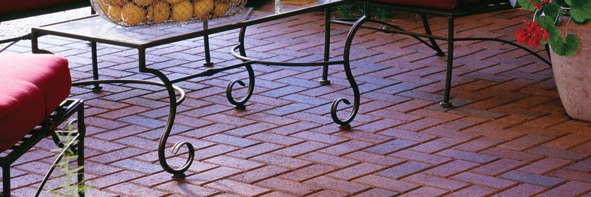 Benefits - Red Brick Paver Demonstrates Color Integrity