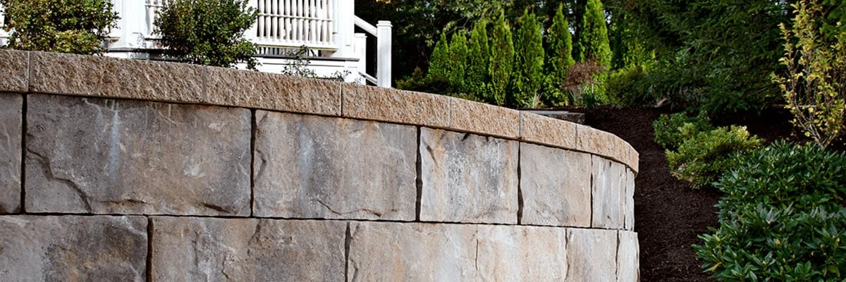 Benefits - Retaining Wall in a Garden