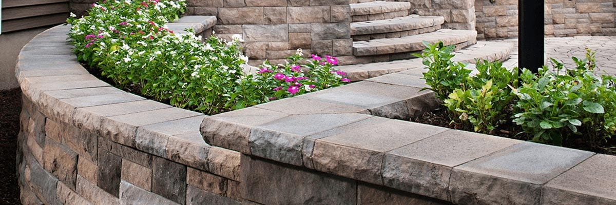 Benefits - Retaining Wall Planter with Flowers