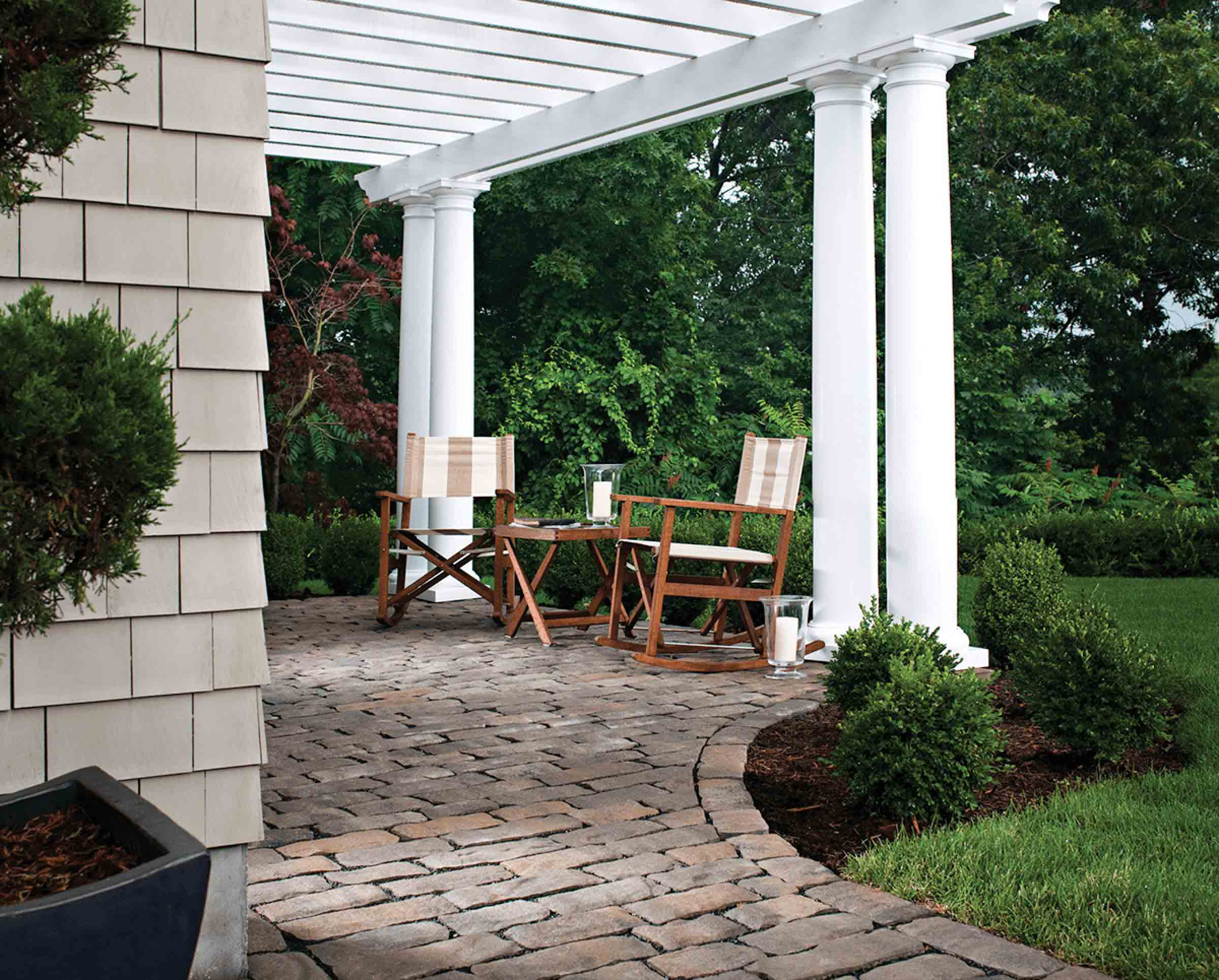 Benefits - Pavers Used For the Back Porch