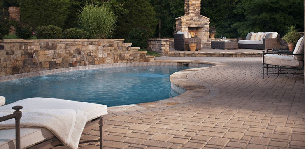 Home - Stone Paver Fire Pit