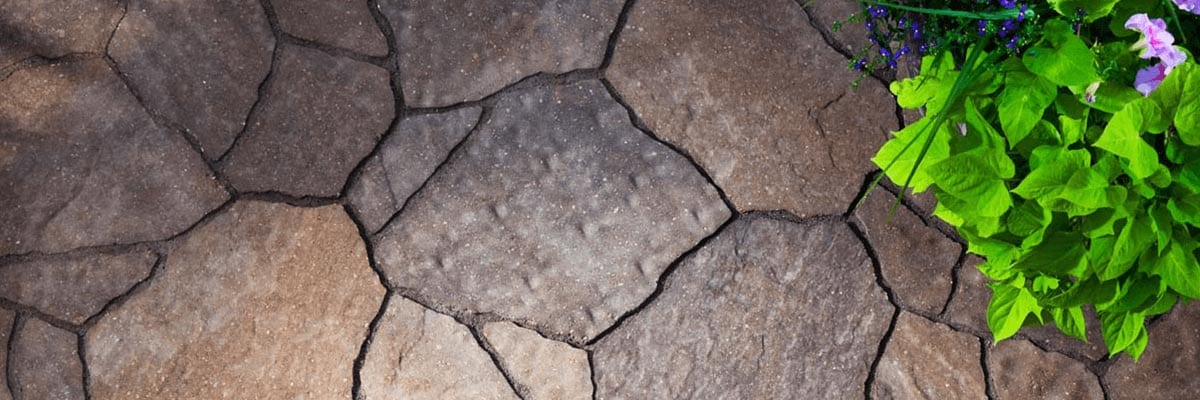 Why Pavers - Longevity - Stone Pavers of Different Shapes for a Backyard Patio