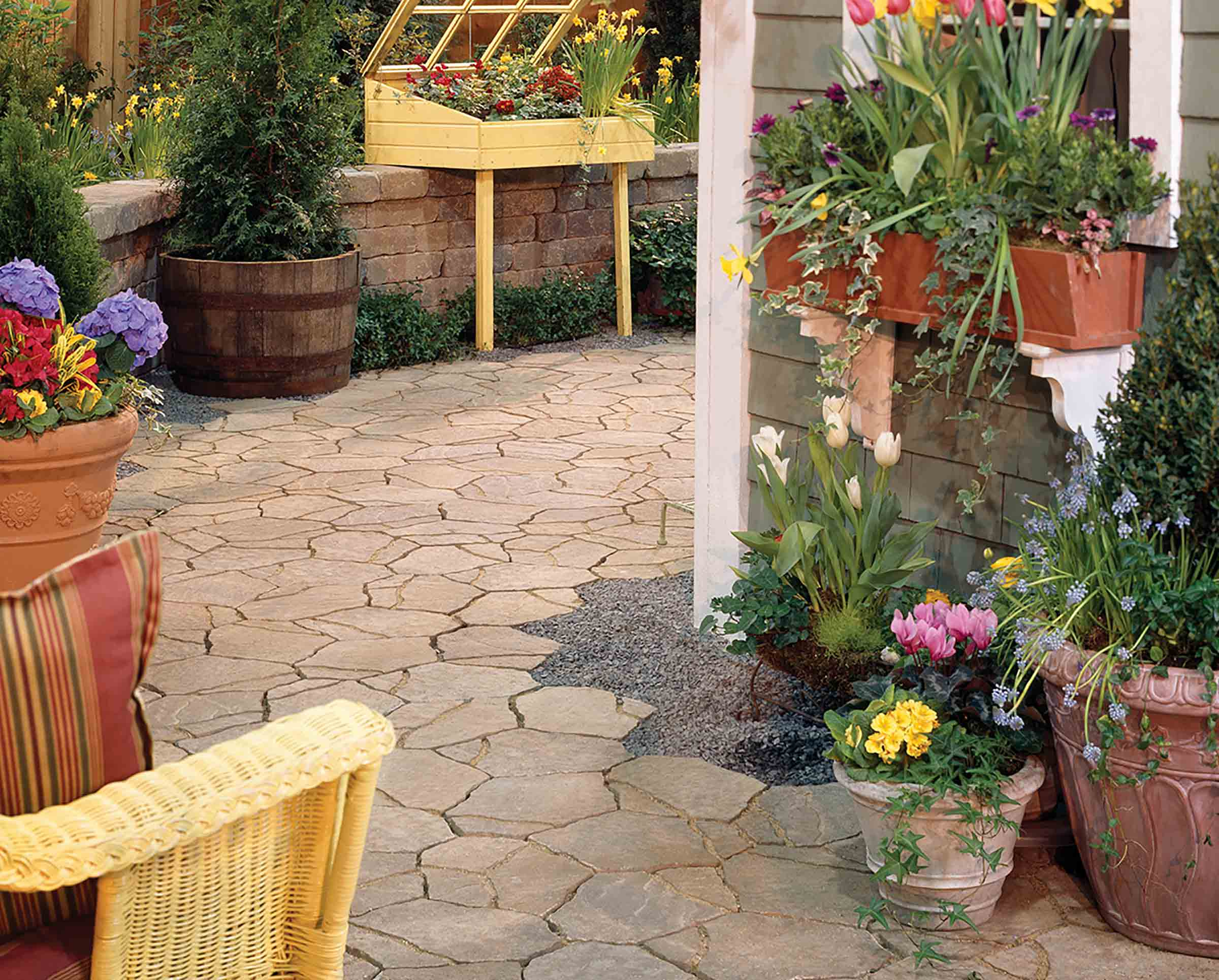 Pavers Best Choice: Stone Paver Garden