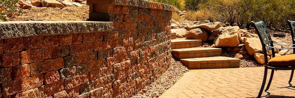Our Company - Brick Retaining Wall