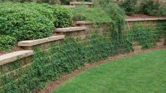 Anchor Diamond Retaining Wall Straight