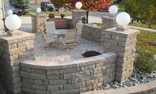 Anchor Highland Stone Freestanding Wall Cap